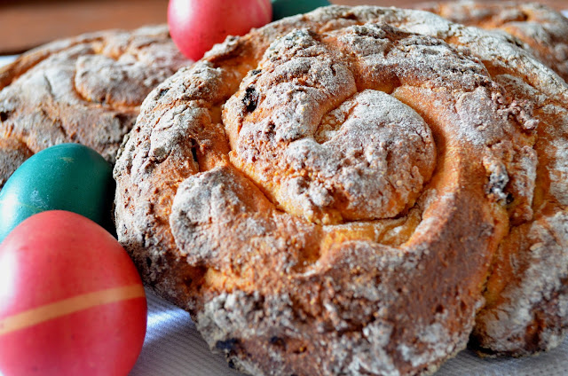 pane dolce di pasqua/easter sweet bread