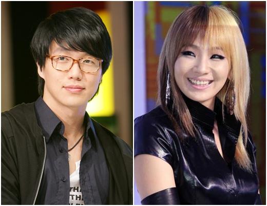 CL 2NE1 & Sung Si Kyung