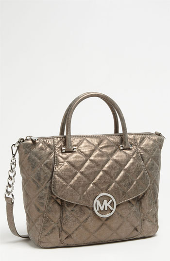 MK Fulton Large TZ satchel nickel