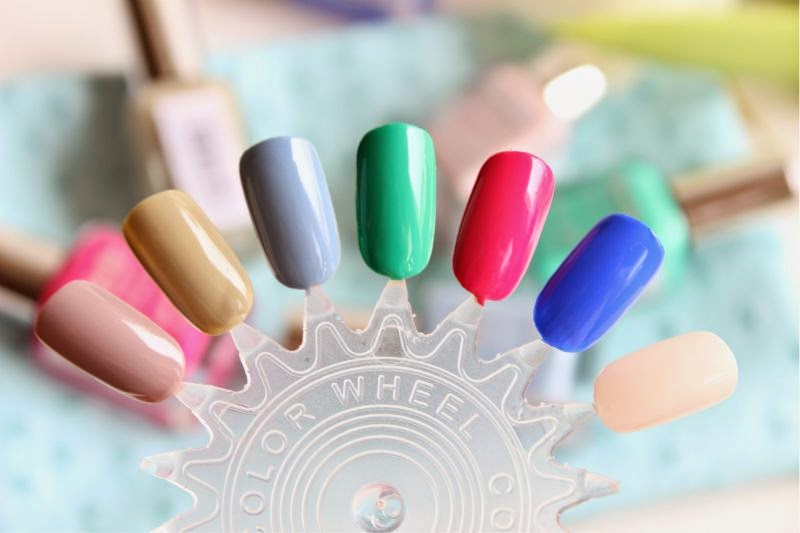 New Barry M Gelly Hi-Shine Nail Paint Shades SS14