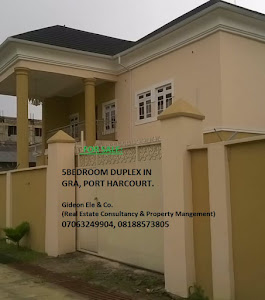 Property For Sale in GRA Port Harcourt