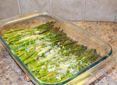 """""""baked asparagus"""""""
