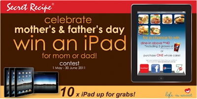 Secret Recipe 'Mother's and Father's Day' Contest