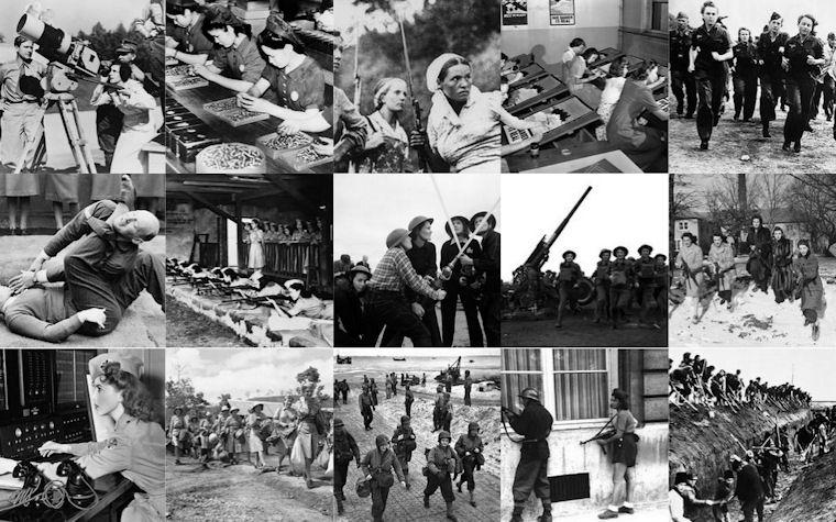 Mujeres en la sengunda guerra mundial - Women at World War II