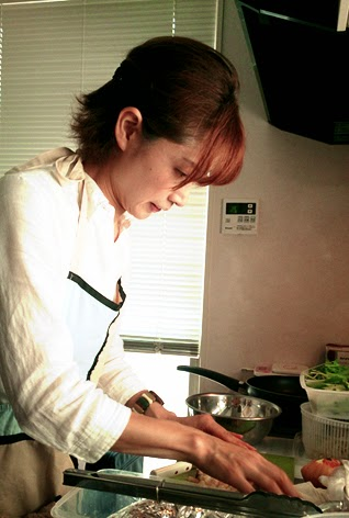 同じ保育園のママ友会にしぶちえシェフが出張エスニック料理:豊島区東長崎