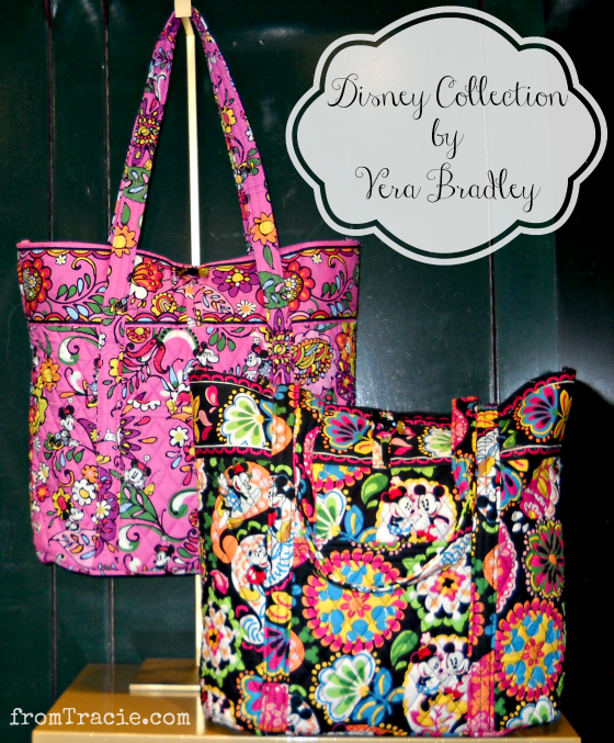 Vera Bradley Tote Bags Disney Collection