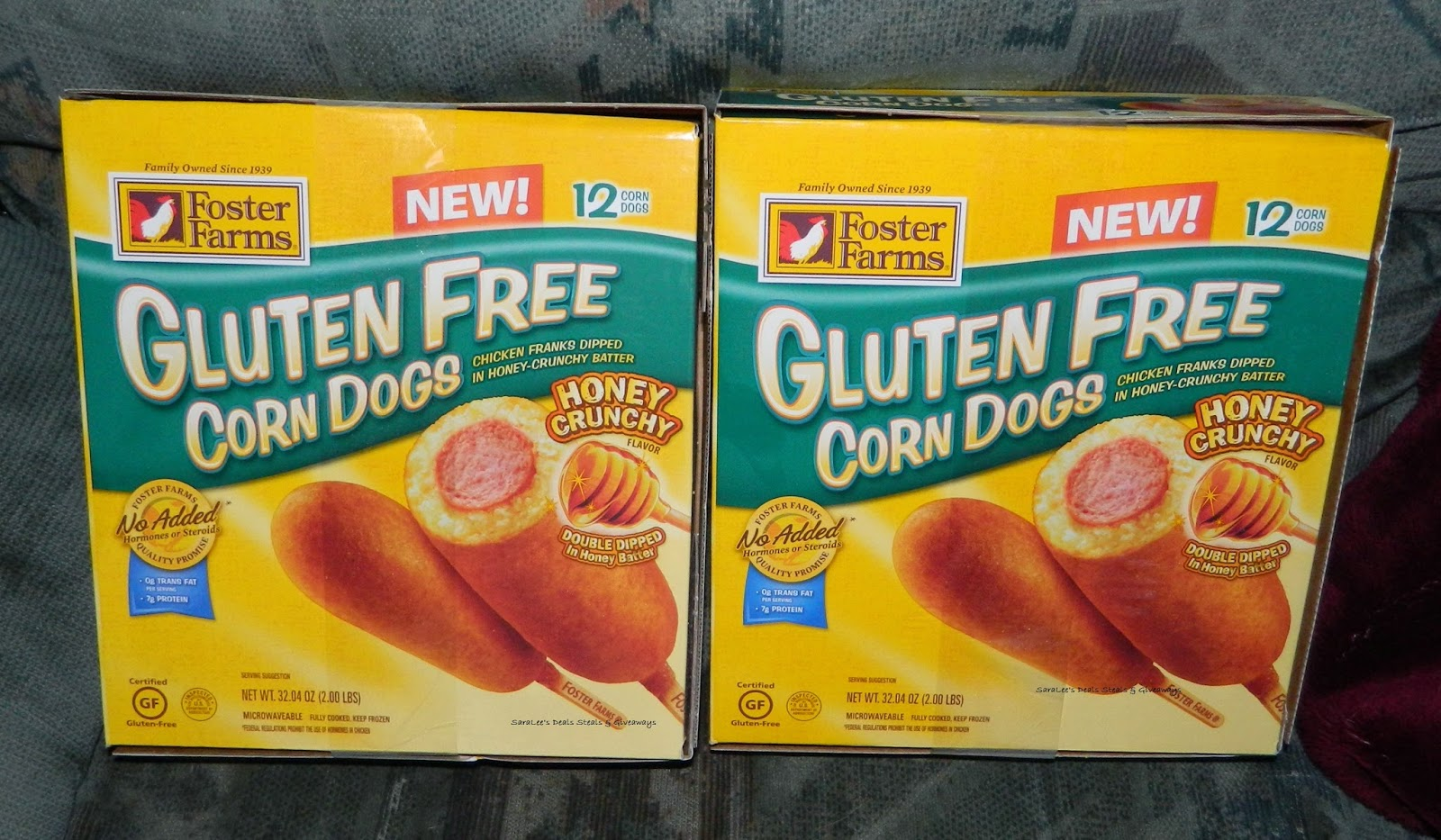 Enter the Foster Farms Gluten Free Corn Dogs Giveaway. Ends 11/17.