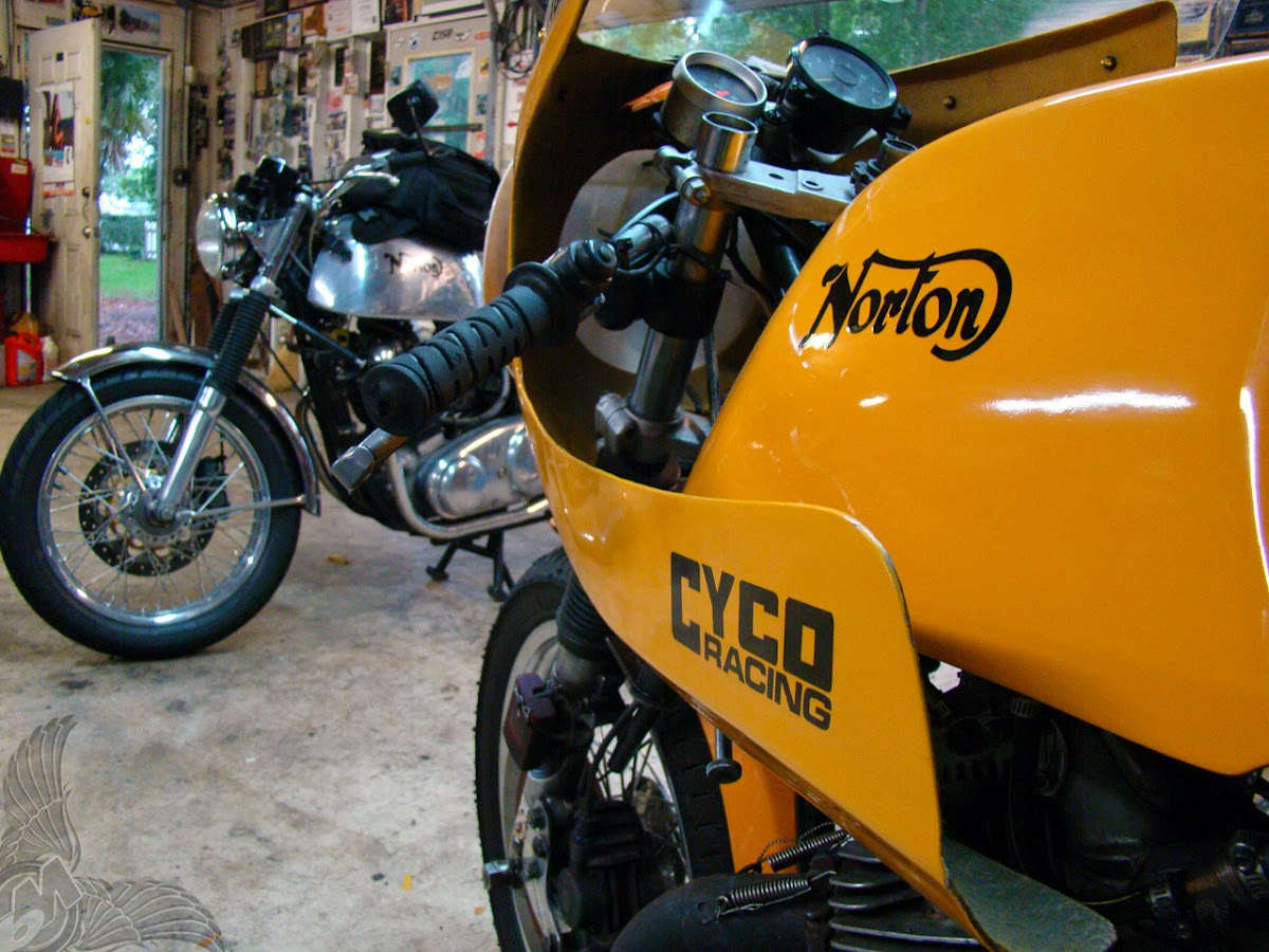 norton wera racer   cyco racing