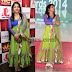 Light Parrot Green Netted Salwar