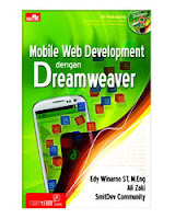Buku Mobile Web Development dengan Dreamweaver