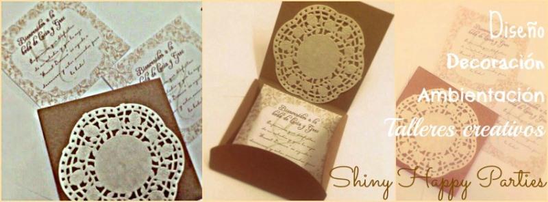 shiny happy parties mallorca invitaciones de boda artesanales
