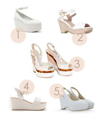 white platform wedges, uk fashion, uk style, how to wear white wedges, summer shoes