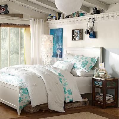 Diseño dormitorio chica adolescente
