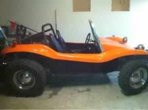 1968 MANX dune buggy with a 1800cc VW engine $6,200