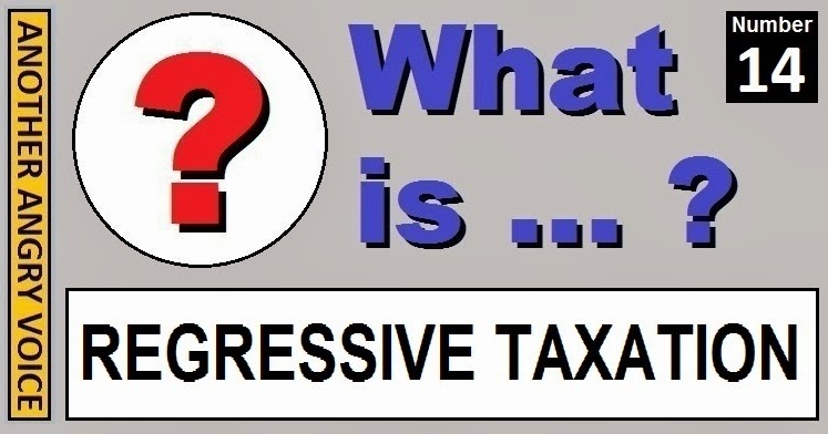 regressive tax Tax analysts is the leading publisher of tax news, analysis and commentary for the global community more than 150,000 tax professionals in law and.