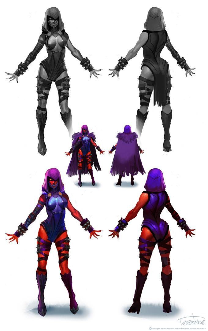 Concept Art Injustice Concept Arts e Video Clip de