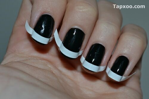 Gallery blog french tip nail design and ideas nail design photos
