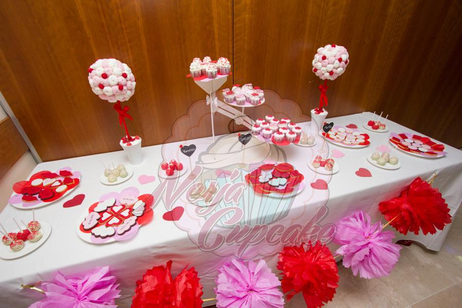 Nerjacupcake mesa de dulces boda vanessa y mart n for Ideas para mesas de chuches