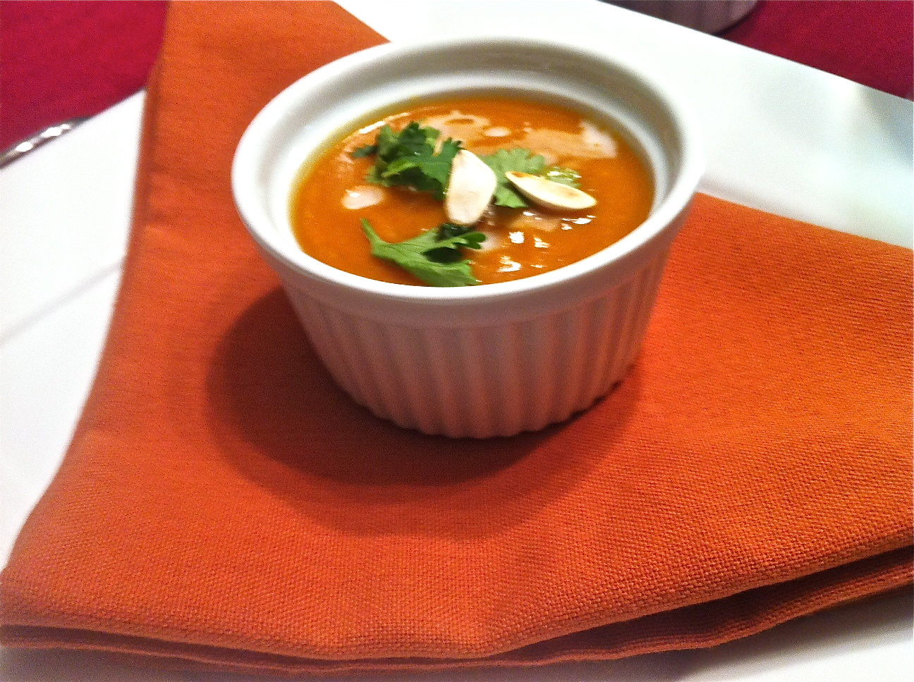 Only Soups: Chipotle Pumpkin Soup