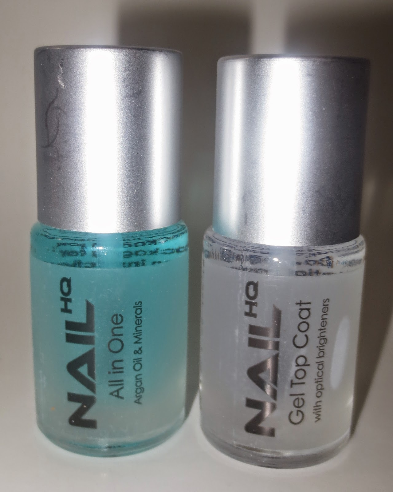 Nail HQ All in One & Gel Top Coat