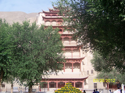 Temple qui a été construit dans la montagne, on ne l'a pas visité