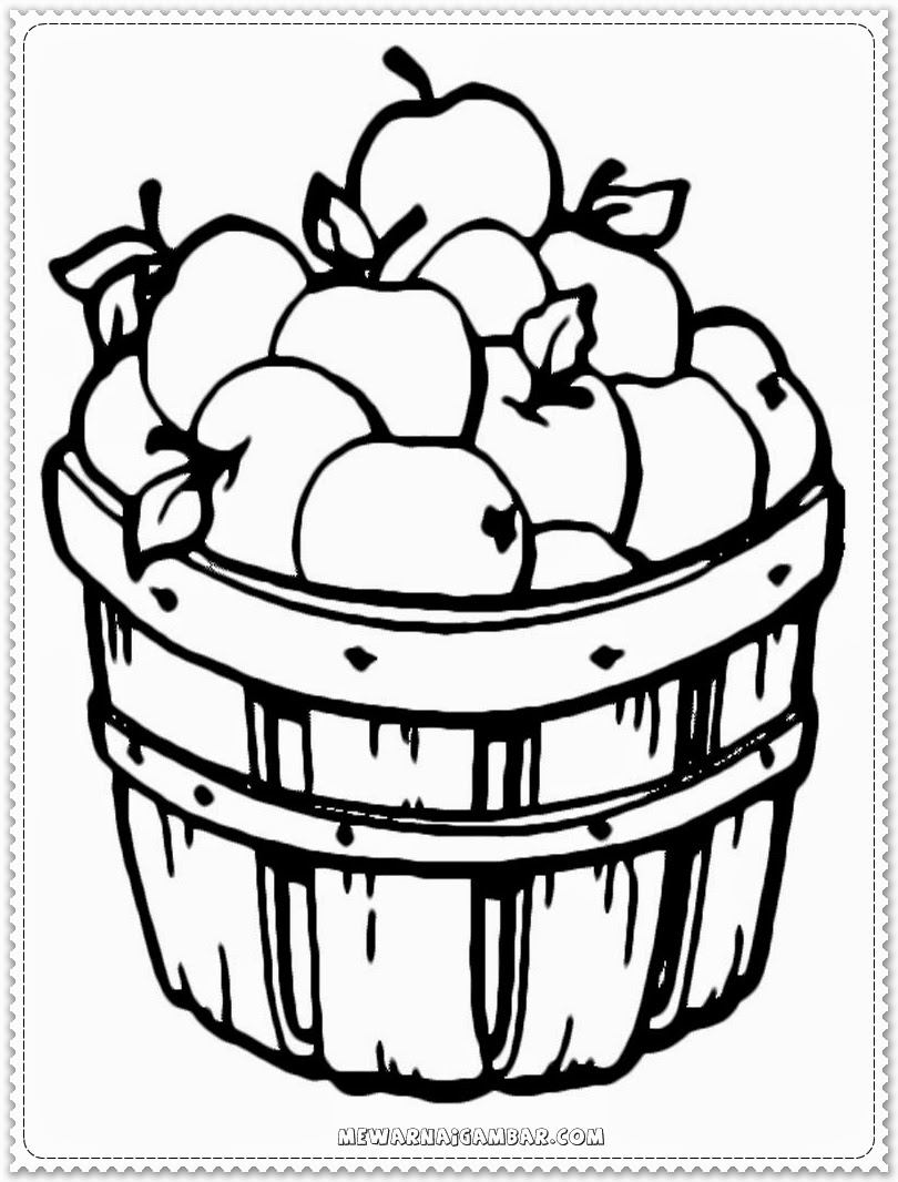 apple coloring pages free printable kids coloring pages