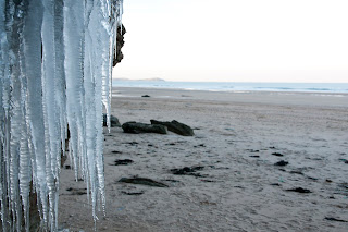 Watergate bay in the winter. Cornwall