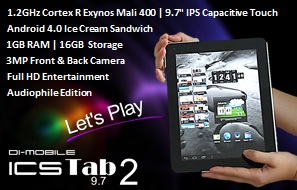 New Slim Stylish Tablet Spektakuler