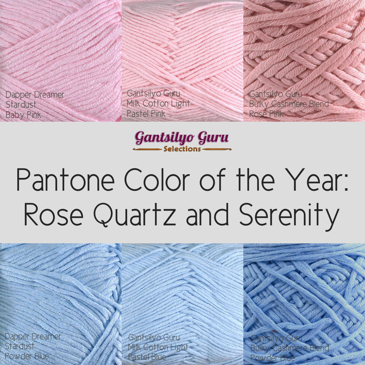 Pantone 2016: Gantsilyo Guru: Pantone Color Of The Year For 2016