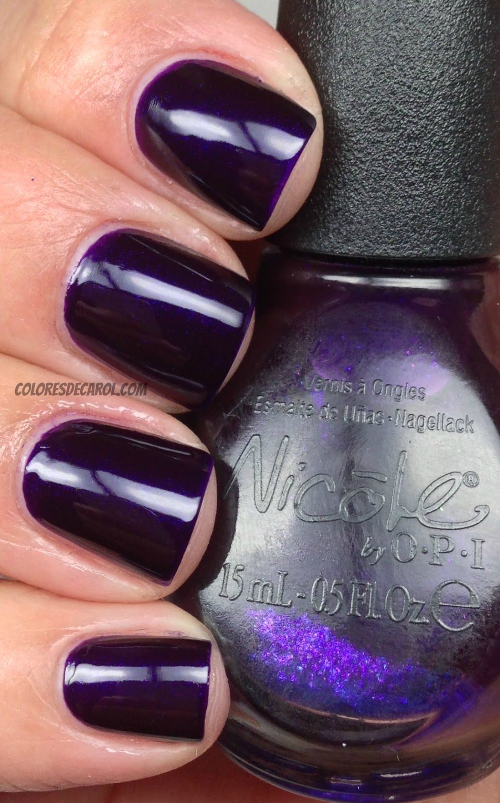 Colores de Carol: Nicole by OPI - Plum To Your Senses