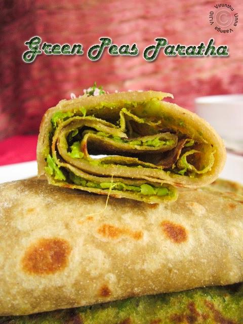 green-peas-chapathi