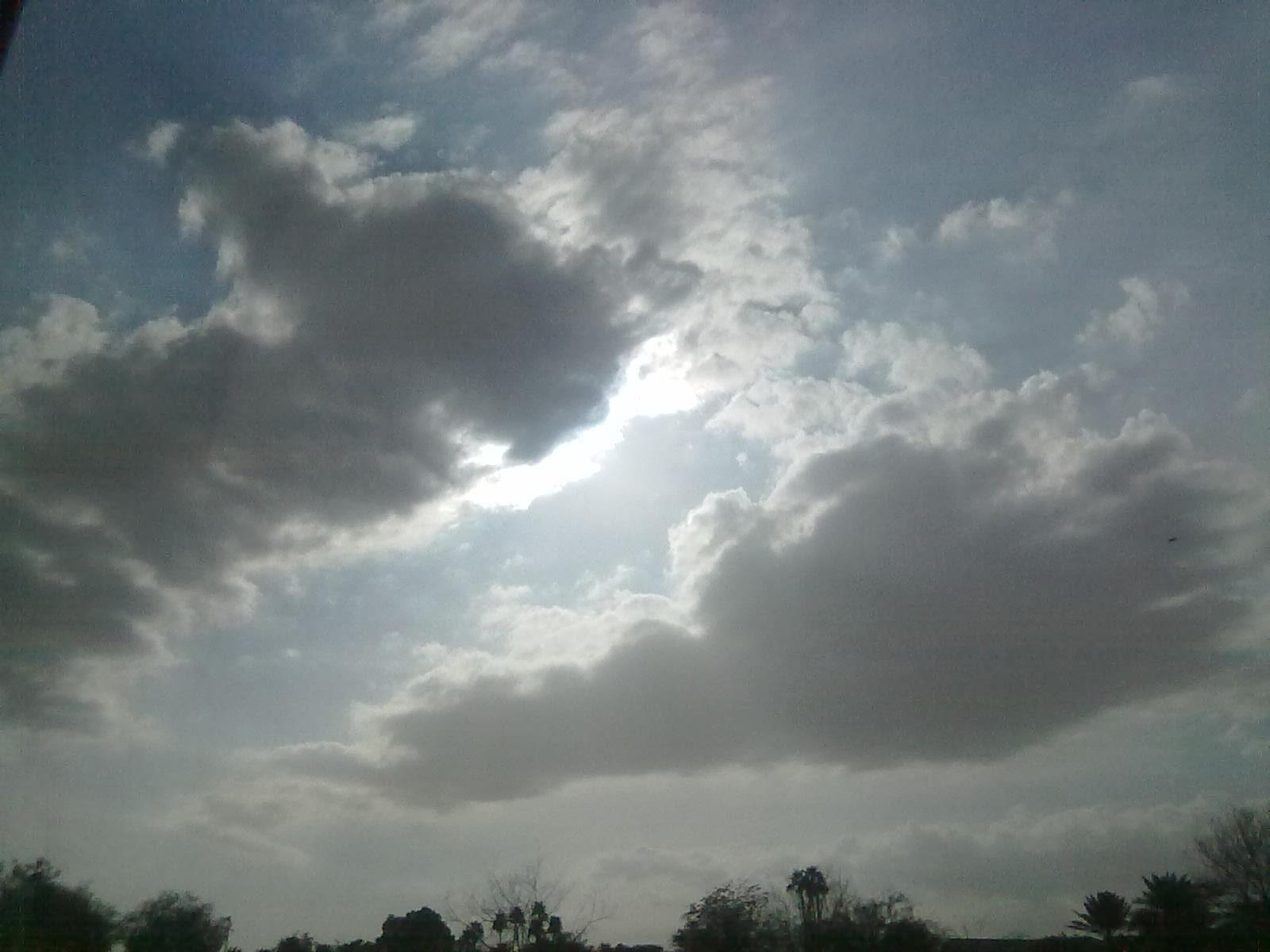 سماء وسحب !!