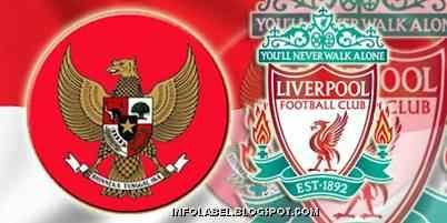 Inilah Skuad Timnas Indonesia Menghadapi Liverpool