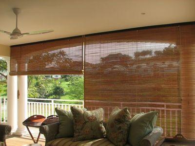 Bamboo Exterior Shades