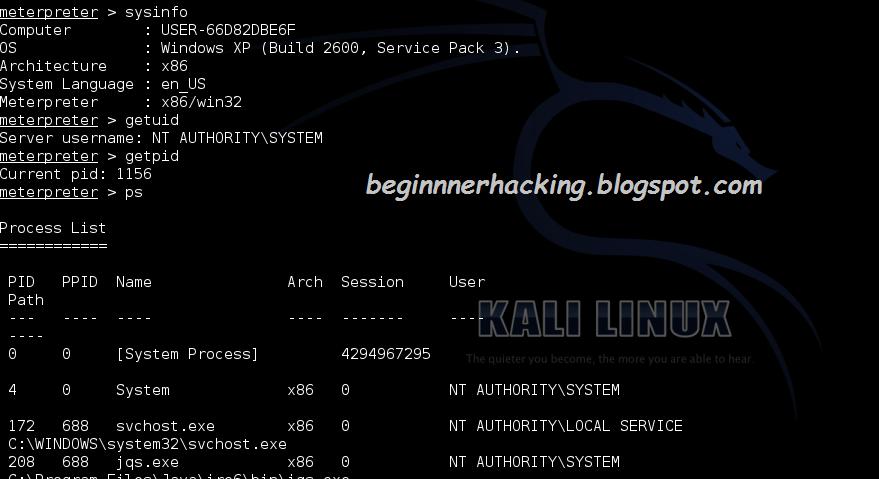 kali linux windows penetration testing pdf