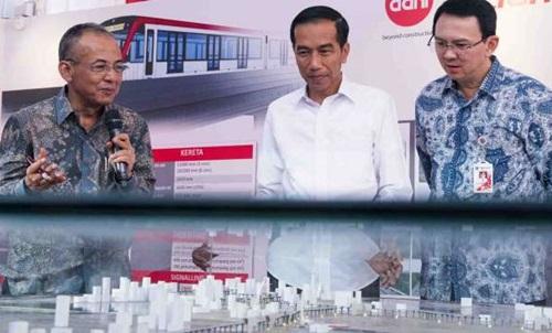 Ahok Yakin Proyek LRT Tak Akan Mangkrak Seperti Monorel