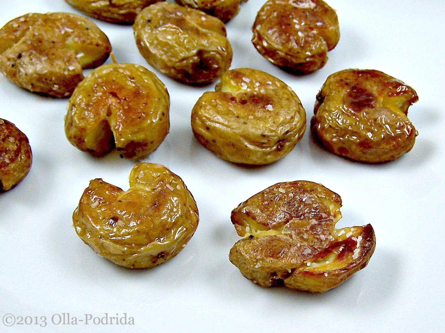 Olla-Podrida: Salt and Vinegar Roasted Potatoes