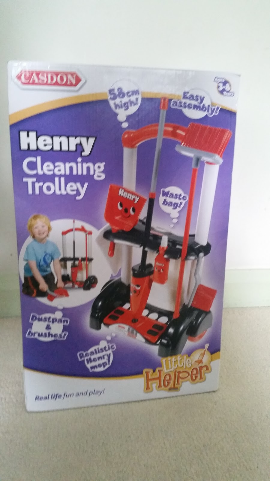 how to clean out a henry hoover