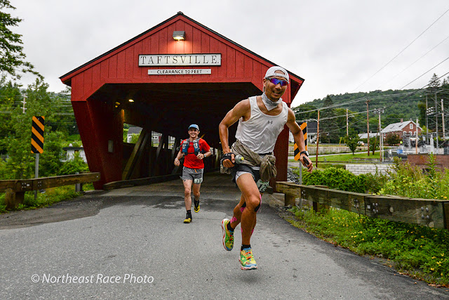 mile 15 of the Vermont 100 ultramarathon