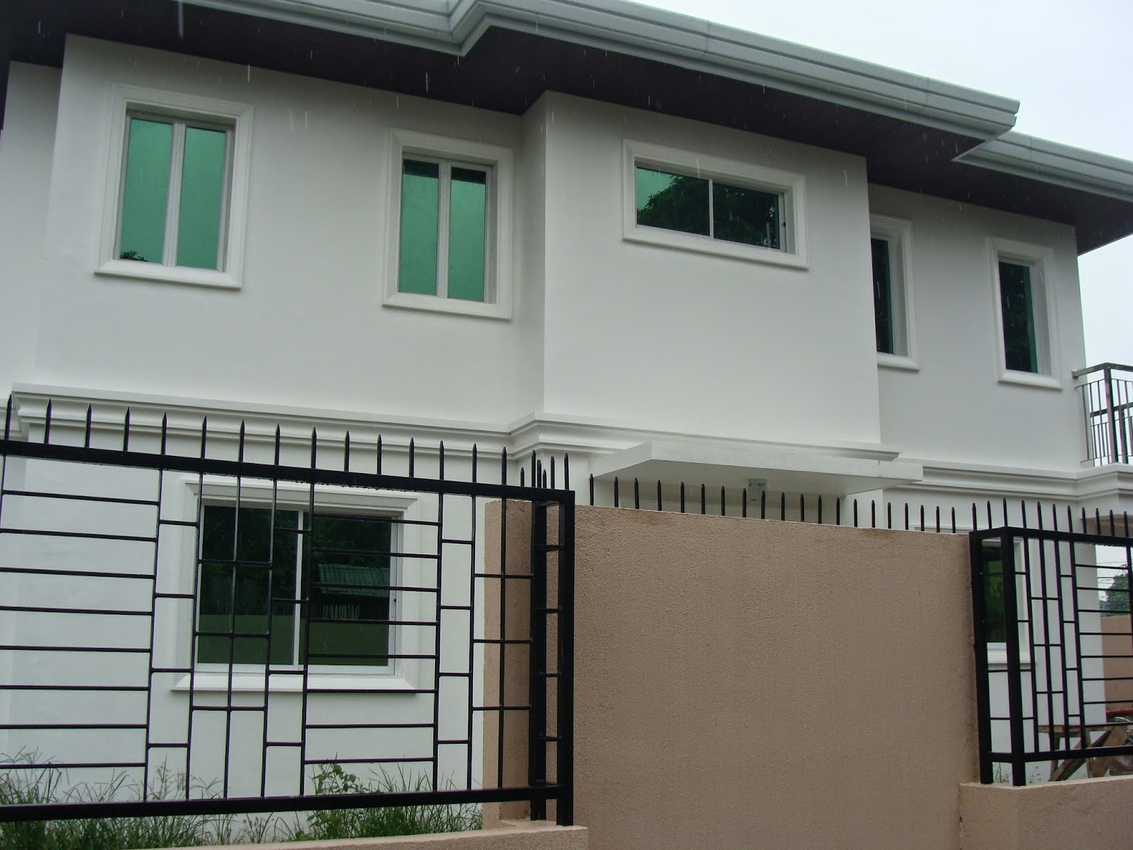 Glenville subdivision house construction project in for One storey house philippines