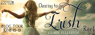 http://xpressobooktours.com/2015/03/31/tour-sign-up-dancing-to-an-irish-reel-by-claire-fullerton/