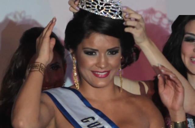 Miss Internacional Guatemala 2013 winner Sara Veralucia Guerrero Chavarria