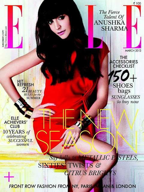 Anushka Sharma Elle India
