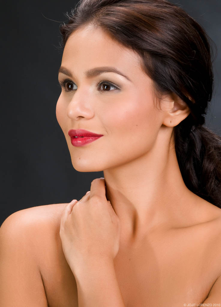 Iza Calzado's Attractive Smile