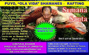 AMAZONÍA EN SEMANA SANTA