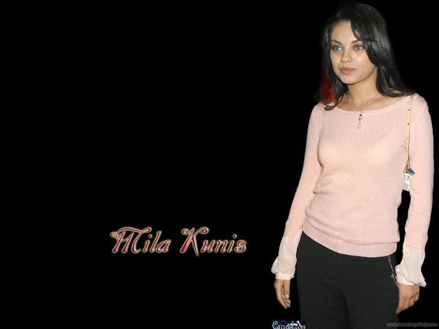 Mila Kunis HD Wallpaper-Wide Screen
