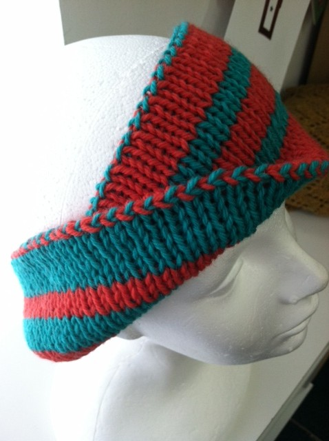 Double Knitting Headband Pattern : Twisted Yarns