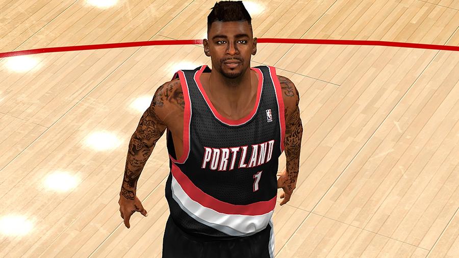 NBA 2K14 Dorell Wright Cyberface Patch