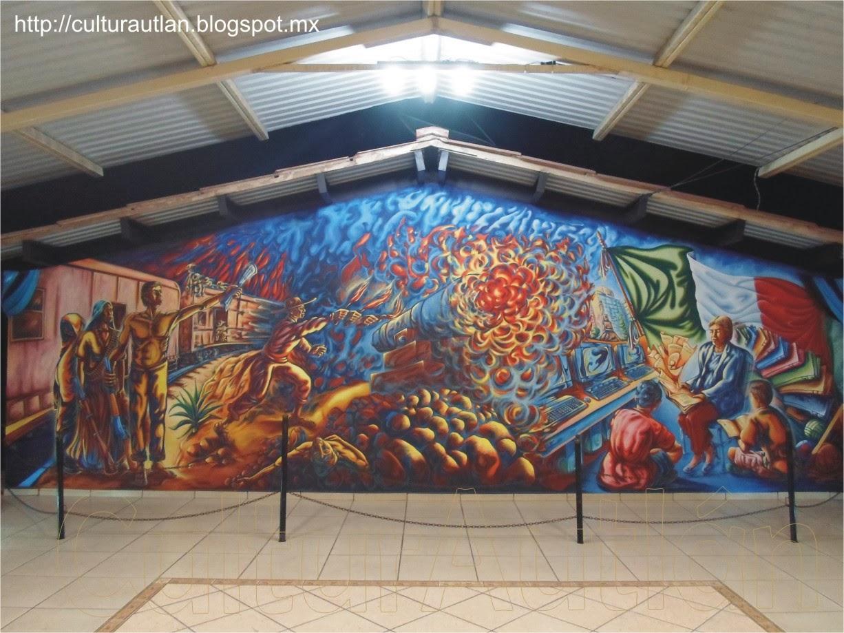 Culturautl n mural narciso vivo for El mural guadalajara
