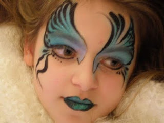 body painting, face painting